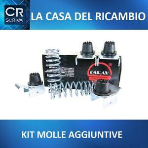 KIT 4 MOLLE AGGIUNTIVE POSTERIORI X RINFORZO CARICO FIAT DUCATO FURGONE CAMPER