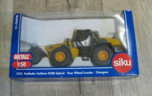 Siku 3533 Radlader Liebherr R 580 1:50 mit Verpackung