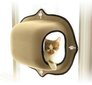 KH Cat window bed, Bubble Pod single Window cosy snugly pet window hammock bed