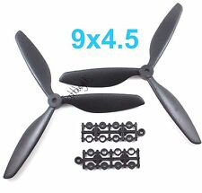 1Pair 9045 (9x4.5) CW CCW QuadRotor QuadCopter 3-Blades Propeller, US 001-02601