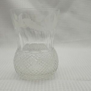 Edinburgh Crystal Whiskey Wine Cut Glass Scotland Replacement Vintage 4""