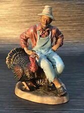Royal Doulton Thanksgiving Turkey Farmer Figurine HN2446 - Restoration