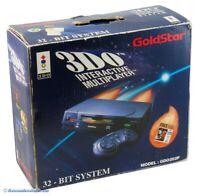 3DO - GoldStar Konsole ohne Zub. mit OVP NEUWERTIG