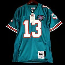 100% Authentic Dan Marino Dolphins Mitchell Ness NFL Jersey Size 44 L Mens Large