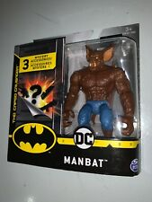 "DC Manbat Spin Master 1st Edition 4"" Action Figure Batman The Caped Crusader"