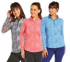 IBKUL Womens BTB Snake Print Long Sleeve Mock Neck 10650 - New 2020