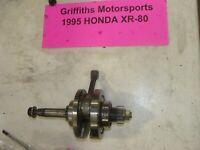 89-09 HONDA XR80r CRF80f crank shaft crankshaft bearings rod oem original