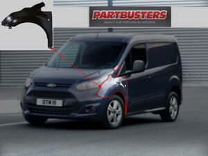 FORD TRANSIT CONNECT 2014 - ON  FRONT WING PASSENGER SIDE LEFT NEW PRIMED