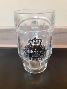 Warsteiner handled glass collectable mancave bar