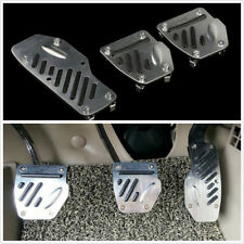 3Pc Non-Slip Foot Pedals Pad Covers Manual Transmission M/T For Car Brake Clutch
