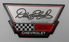 C4 CORVETTE DALE EARNHARDT CHEVROLET CHEVY DEALER METAL BADGE EMBLEM has C4 LOGO