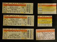 6 Concert Tickets Stubs Bow Wow,Beyonce, Destiny's Child,Areosmith,Bonnie Raiti