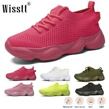 New listing Women's Walking Athletic Sock Shoes Non slip Comfort Knit Casual Sport Sneakers