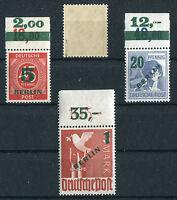 Berlin 64 - 67 P OR ** postfrisch Nr. 65 BPP geprüft 66 P OR Michel 633,00 €