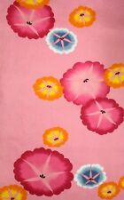 Vintage Japanese Cotton Kimono Fabric Panel Quilting Patchwork