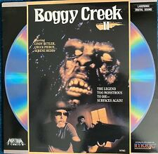 Boggy Creek II, Extended Play, Rated PG, **LaserDisc