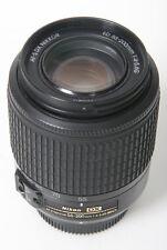 Nikon 55-200mm f4-5.6 AF-S DX Nikkor ED  G lens and caps