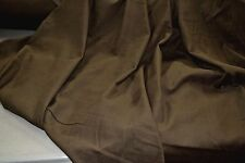 """Baby Cord 28 Wale Brown Corduroy 100% Cotton 57"""" Wide Fabric by the Yard"""