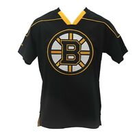 Boston Bruins Official NHL Reebok Youth Size Jersey-Style Shirt New with Tags