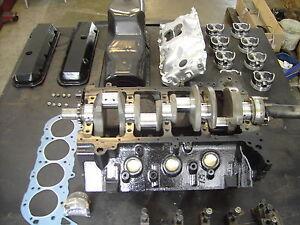 Marinemotor Mercruiser 7,4  Bausatz  bei Frostschaden  454