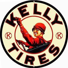 Kelly Tires Garage Shop Sign 24 Round