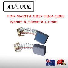Carbon Brushes For Makita CB57 CB64 CB85 5X8X11mm 191956-9 6805BV HP1631 AU