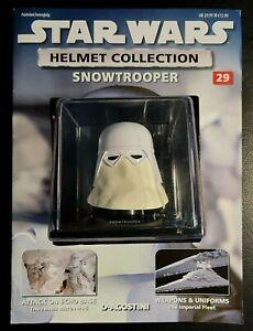 "Star Wars Helmet ""Snowtrooper"" Issue 29 ""Deagostini"" Collection"