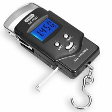 LCD Electronic Balance Digital Fishing Hook Scale 110lb/50kg & Measuring Tape