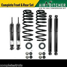 97-02 Ford Expedition 2WD Complete Air to Shocks & Coil Spring Conversion Kit x4