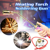 44CM Handle Soldering Gun Heating Torch Propane Gas Flame Blow welding quenching