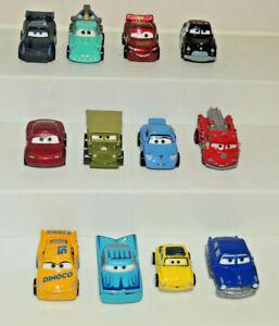Disney Pixar CARS Lot Of 12 Mini Diecast Vehicles Mini Racers