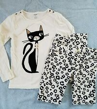 Pre-Owned: Gymboree long shirt leggings girls size 8 outfit fall/winter