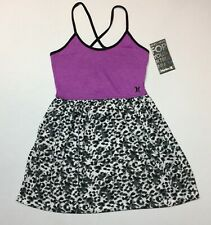 New Hurley Magenta Heather  Dress Size Large  Girl's