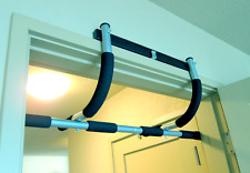 Chin Pull Up Bar Mounted Doorway Extreme Home Gym Fitness Workout Heavy Duty