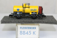 n2571, Fleischmann 8845 K Kesselwagen OLEX BOX Spur N KKK NEM mint