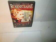 ROSENSTRASSE rare German dvd MARIA SCHRADER Jewish Holocaust