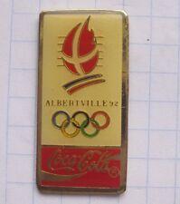 COCA-COLA / OLYMPISCHE SPIELE ALBERTVILLE 1992  ... Sport Pin (134a)