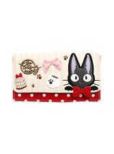 Studio Ghibli Kiki's Delivery Service Jiji Cat Peek A Boo Trifold Flap Wallet