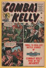Combat Kelly #33 Atlas 1955 Early Marvel War VG