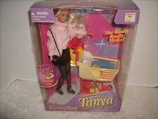 WALKING TANYA SHOPPING DOLL 1999 GP TOYS NEW IN BOX 1999 NRFB