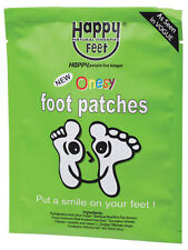 HAPPY FEET NATURAL THERAPIES Onesy Foot Patches 1 pack of 2 patches