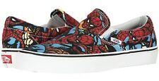 Vans Classic Slip-on MARVEL SPIDER MAN SKATE Shoes Size Men's 10