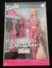 Barbie Fashion Designer Doll w/Clothes & Accessories 2000 NEW  MIB #29399
