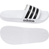 Adidas Men Sandals Adilette Cloudfoam Beach White Swimming Pool Unisex AQ1702