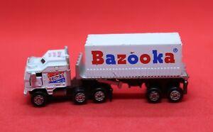 Vintage Micro Machines Shake & Sniff #3 Bazooka Gum 1991 Semi Truck  Rare