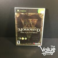 The Elder Scrolls III Morrowind Game of the Year (Microsoft Xbox, 2003) CIB