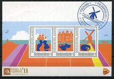Nederland 2011 Beursblokje 2751-C-7 Philanippon 2011 Yokohama