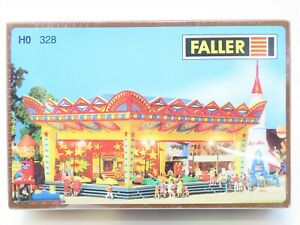 HO Scale Faller #328 Autoscooters w/Driving Mechanism Building Kit