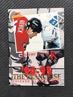 1994-95 PINNACLE SCORE JEREMY ROENICK THE FRANCHISE SP #TF-5