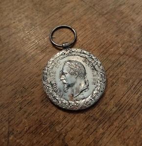 Médaille Campagne du Mexique Napoléon III 1862 1863 BARRE